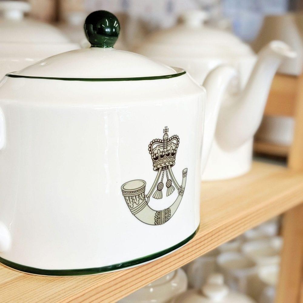 Military Teapot green