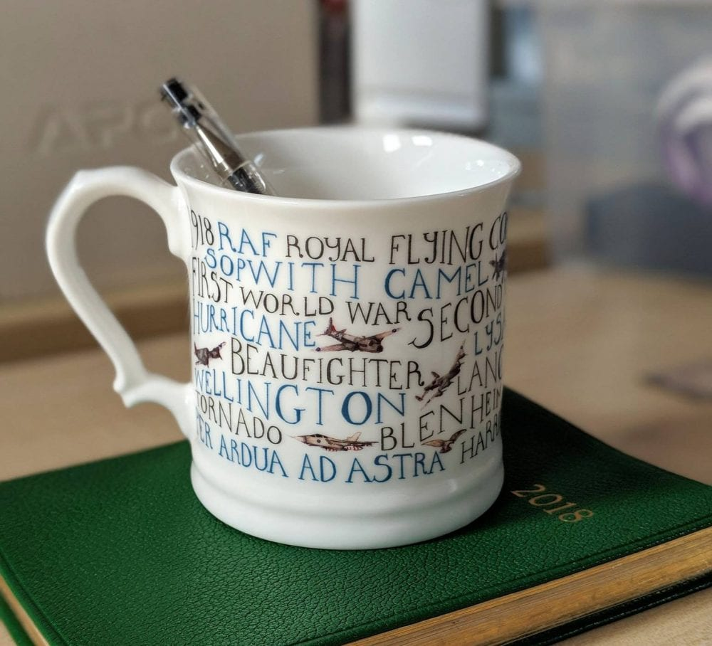 A Mug full of History made for the British Legion