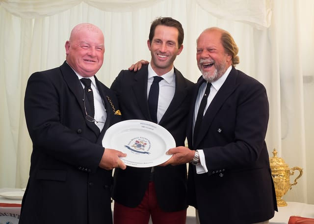 Award Giving Royal Yacht Squadron
