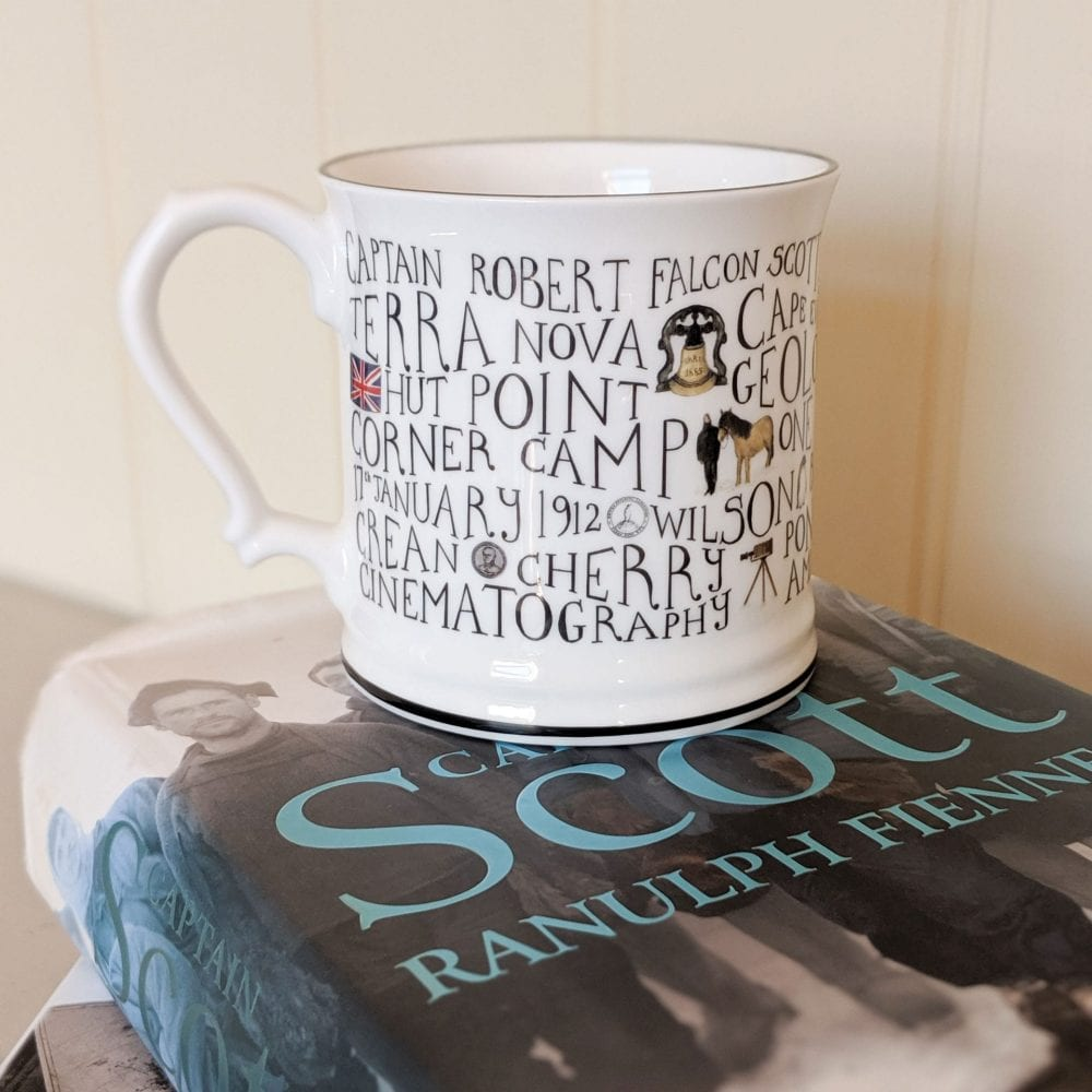polar range of china Scott Mug full of history
